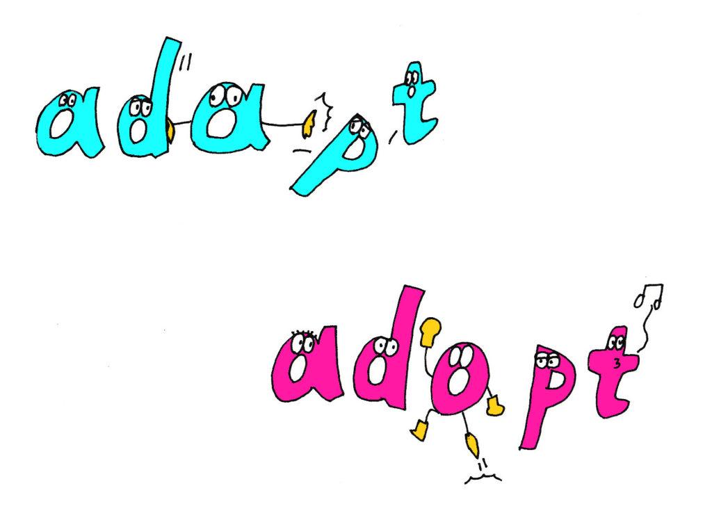 adapt-adopt