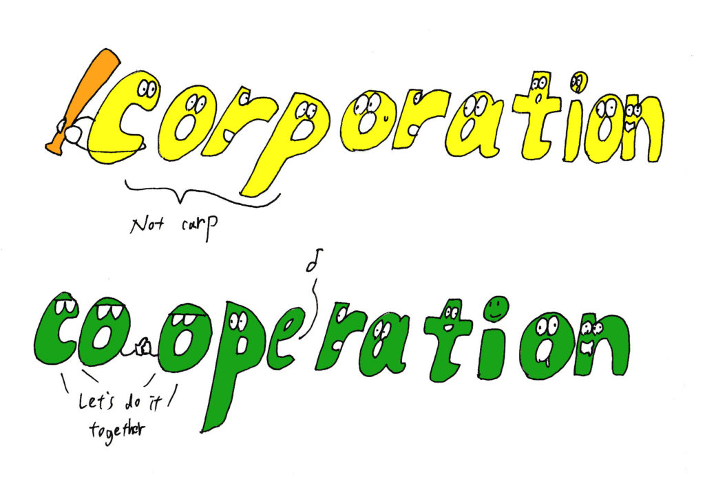 corporation and cooperation