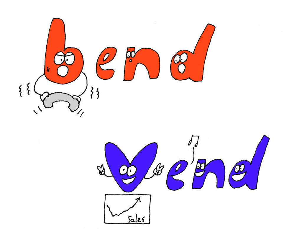 bend and vend