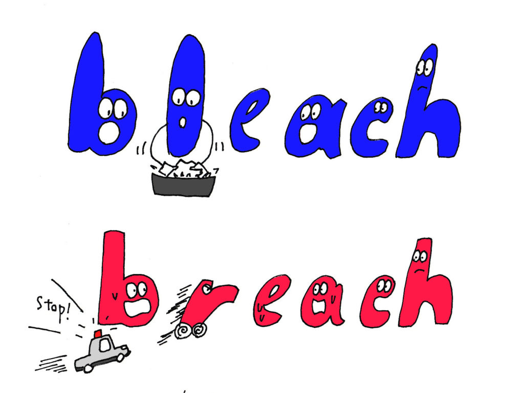 bleach and breach
