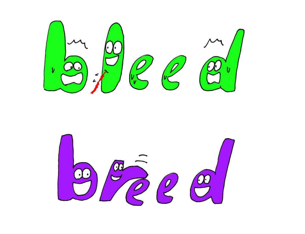 bleed and breed