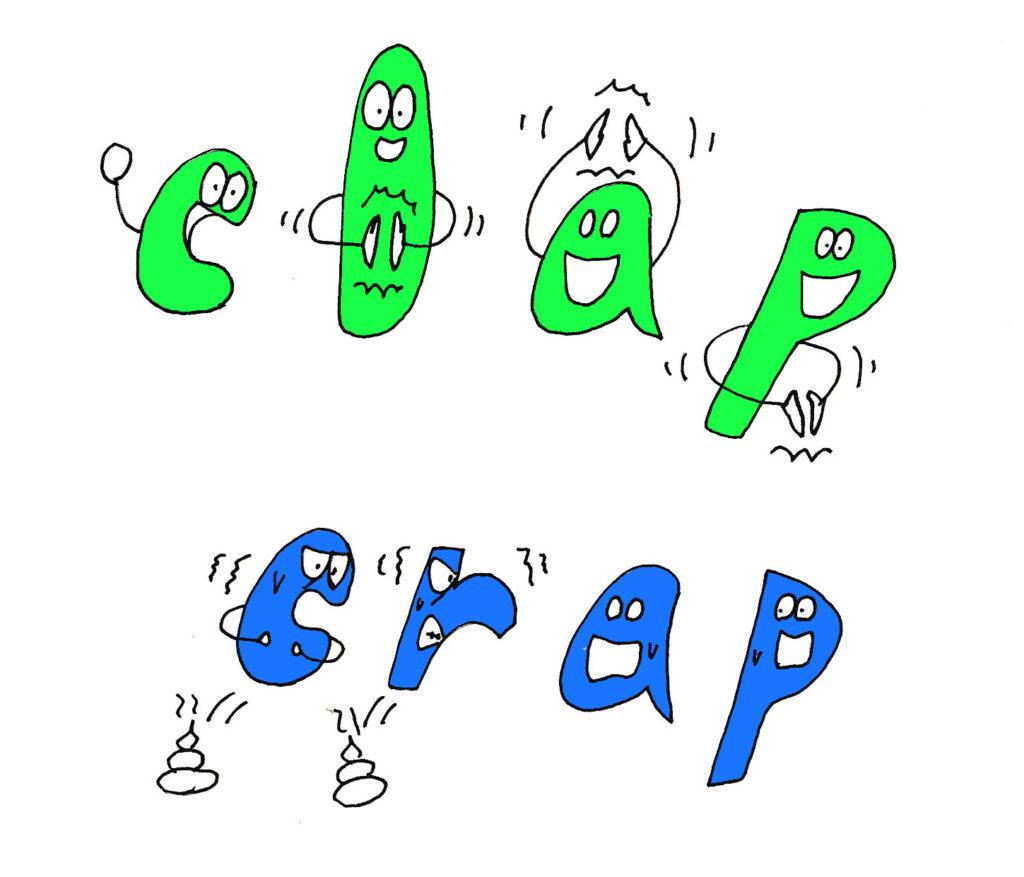clap and crap