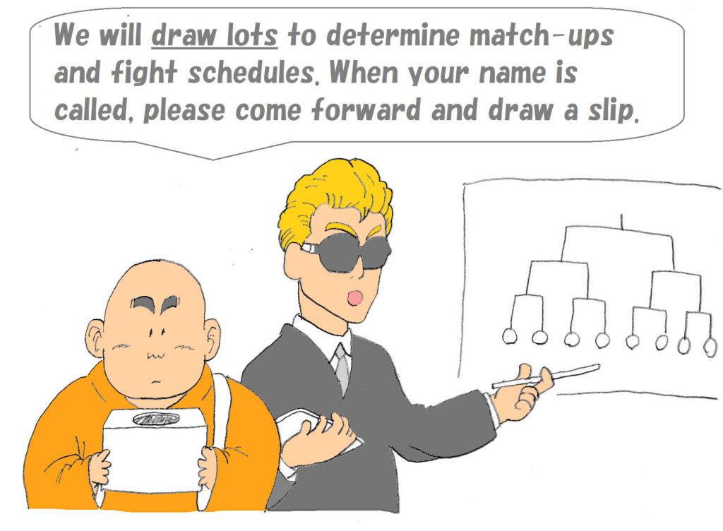 draw lots
